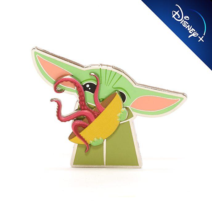 Pin Grogu con tazón calamar, Disney Store