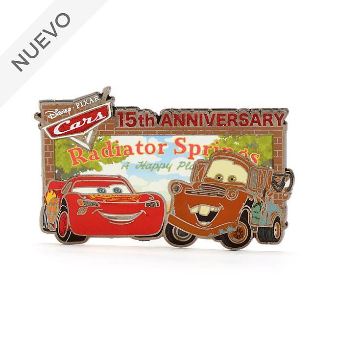 Pin 15.º aniversario Disney Pixar Cars, Disney Store