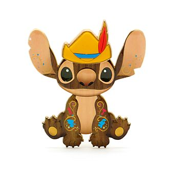 Disney Store Pinocchio Stitch Crashes Disney Jumbo Pin, 5 of 12