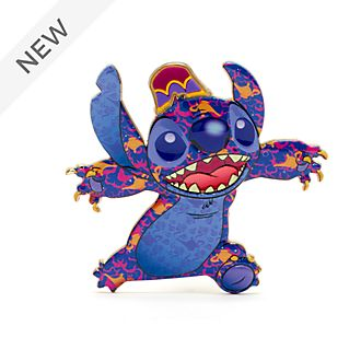 Disney Store Aladdin Stitch Crashes Disney Jumbo Pin, 6 of 12
