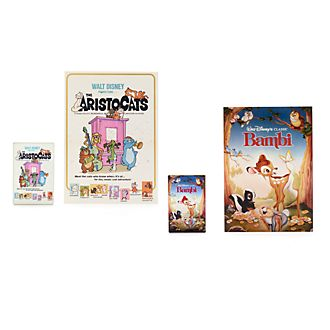 Disney Store Disney Classics Film Posters Pin Set, 2 of 2
