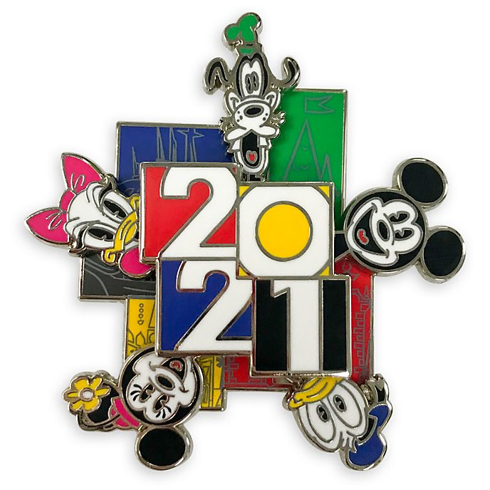 Disney Store Pin's Mickey et ses amis 2021