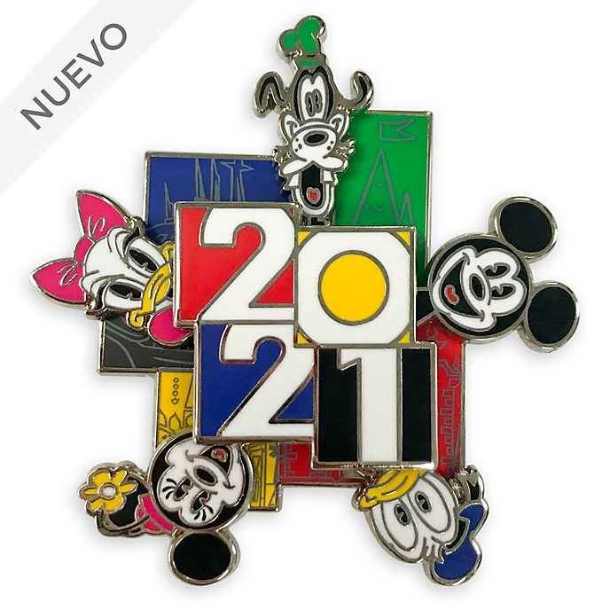 Pin 2021 Mickey y sus amigos, Disney Store