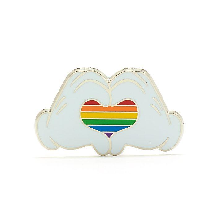 Walt Disney World Mickey Mouse Heart Rainbow Disney Pin