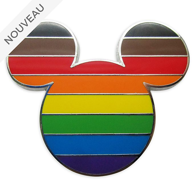 Disney Store Pin's Drapeau intersectionnel Mickey