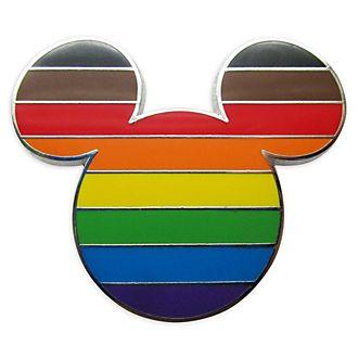 Disney Store - Micky Maus - Anstecknadel mit Flagge der Intersektionalität