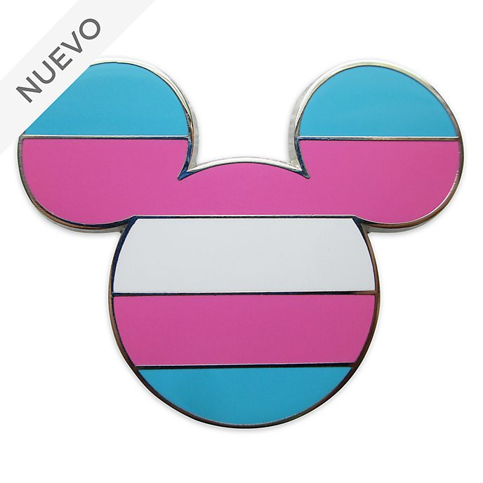 Pin Mickey Mouse bandera orgullo trans, Disney Store