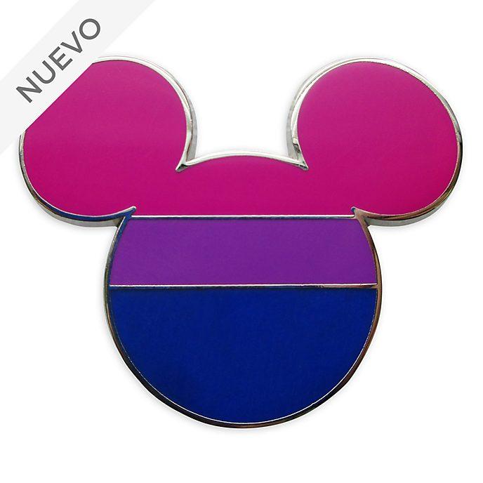 Pin Mickey Mouse bandera orgullo bisexual, Disney Store