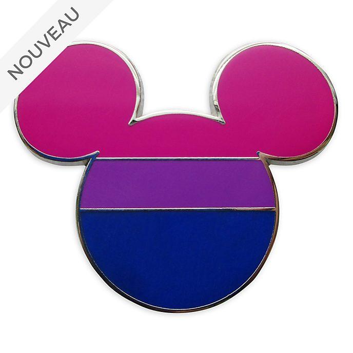 Disney Store Pin's Drapeau bisexuel Mickey