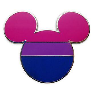 Disney Store - Micky Maus - Anstecknadel mit Flagge der Bisexuellen
