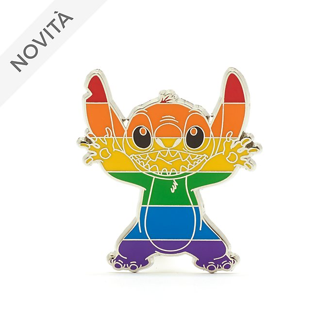 Pin Stitch Rainbow Disney Walt Disney World