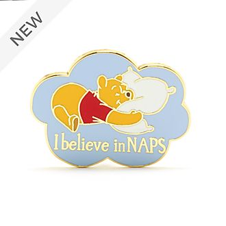 Disney Store Winnie the Pooh 'I Believe in Naps' Pin