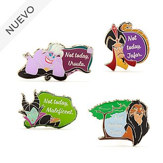Set pins Villanos Disney, Disney Store