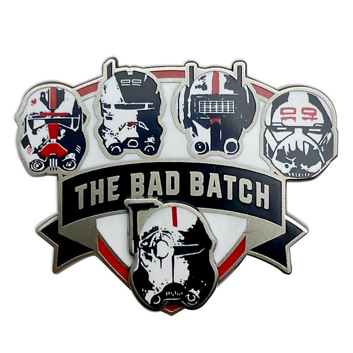 Disney Store - Star Wars: The Bad Batch - Anstecknadel mit Helmen