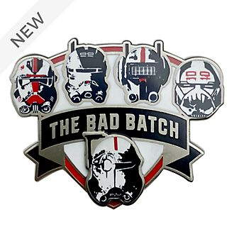 Disney Store Star Wars: The Bad Batch Helmets Pin