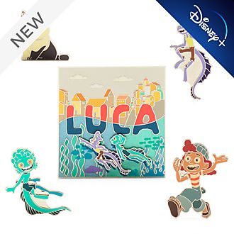 Disney Store Luca Pin Set