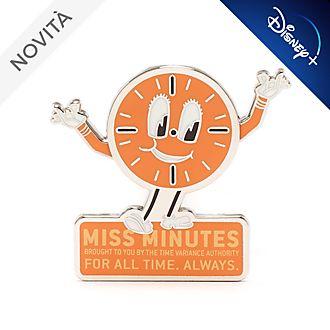 Pin Miss Minutes Loki Disney Store
