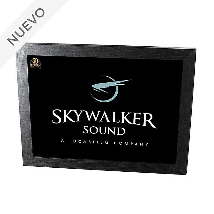 Disney Store póster enmarcado Skywalker Sound