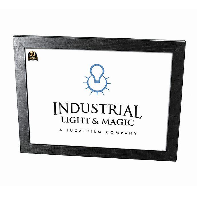Disney Store póster enmarcado Industrial Light & Magic