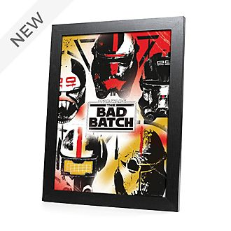 Disney Store Star Wars: The Bad Batch Framed Print