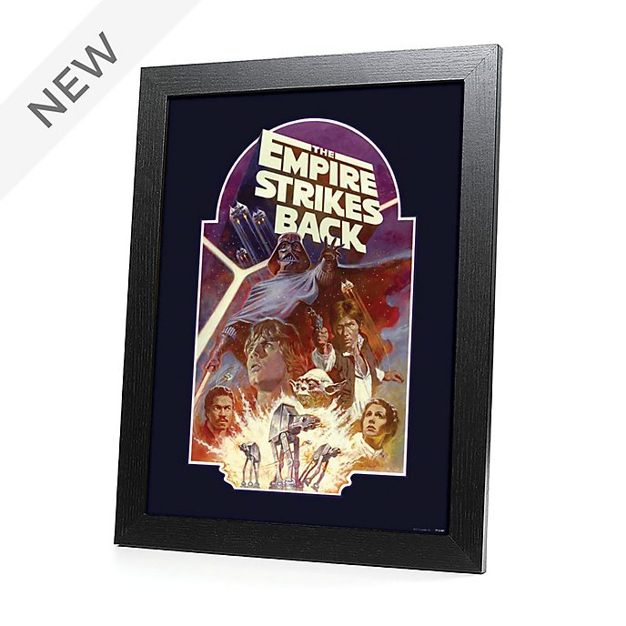 Disney Store Star Wars: The Empire Strikes Back Framed Print