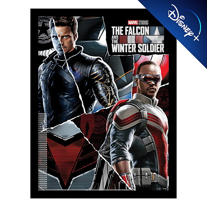 Pyramid The Falcon and The Winter Soldier Framed Print