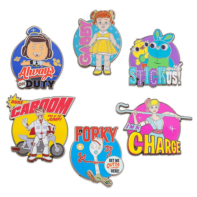 Set di pin Toy Story 4 Disney Store, 4 di 4