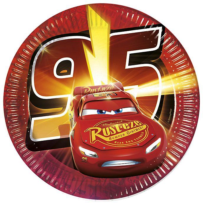 Disney Pixar Cars 3, 8 piatti