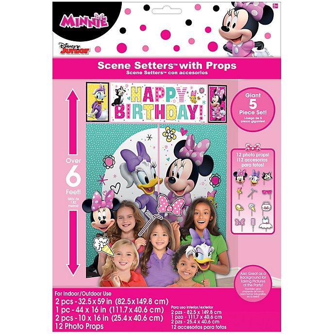 Disney Store Décor de fête avec accessoires Minnie et ses amis