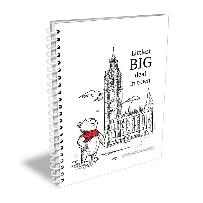 Christopher Robin Personalised A5 Notebook
