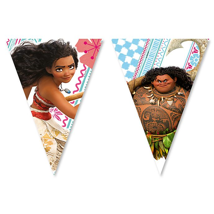 Disney Store Oceania, festone con bandierine