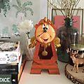 Disneyland Paris Cogsworth Pendulum Clock