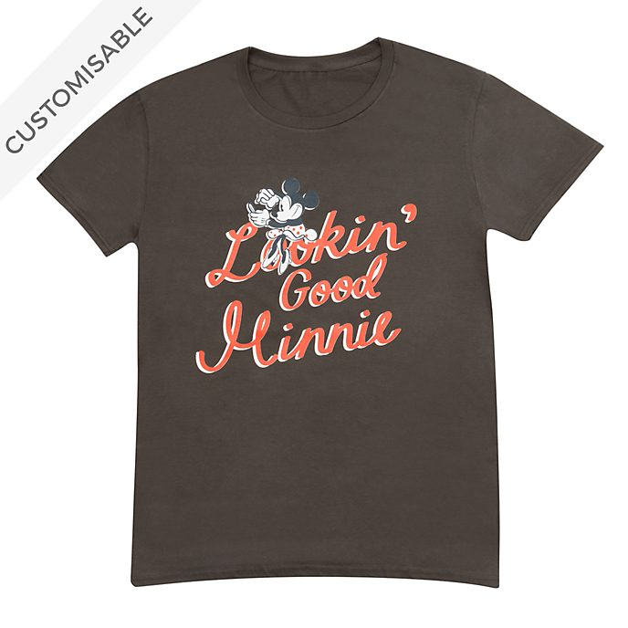 Minnie Mouse Lookin' Good Customisable T-Shirt For Adults