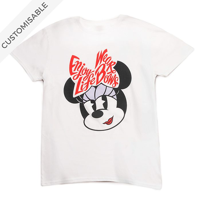 Minnie Mouse Enjoy Life Customisable T-Shirt For Adults