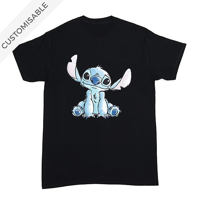 Stitch Sketch Customisable T-Shirt For Adults