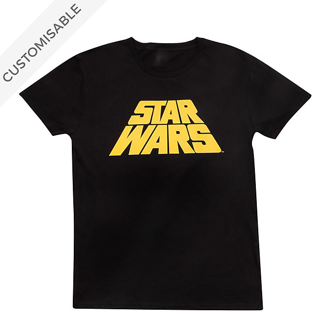 Star Wars Original Logo Customisable T-Shirt For Adults