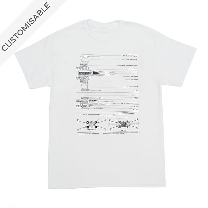 Star Wars Starfighter Customisable T-Shirt For Adults