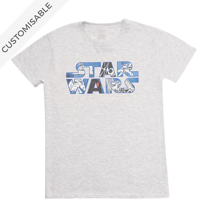 Star Wars Logo Customisable T-Shirt For Adults