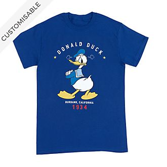 Donald Duck Classic Customisable T-Shirt For Adults