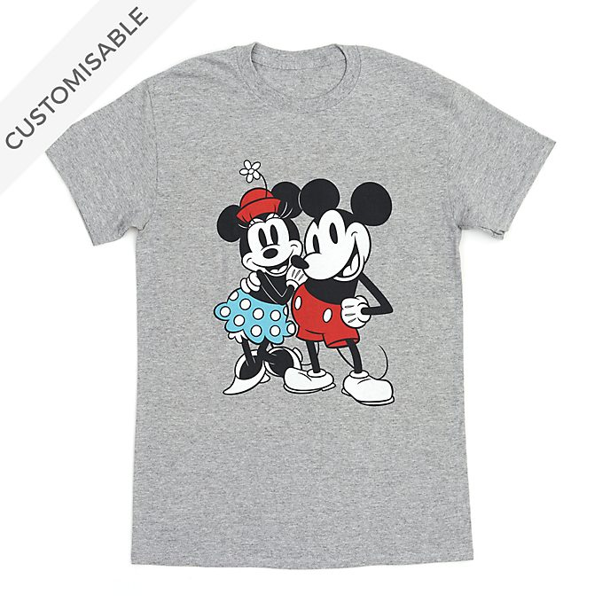 Mickey and Minnie Customisable T-Shirt For Adults