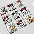Mickey and Friends Squares Customisable T-Shirt For Adults