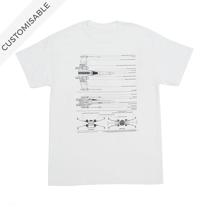Star Wars Starfighter Customisable T-Shirt For Kids