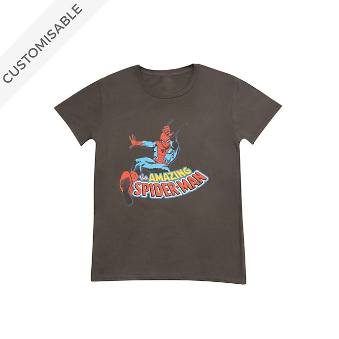 Spider-Man Customisable T-Shirt For Kids