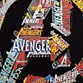 Avengers Logo Customisable T-Shirt For Kids