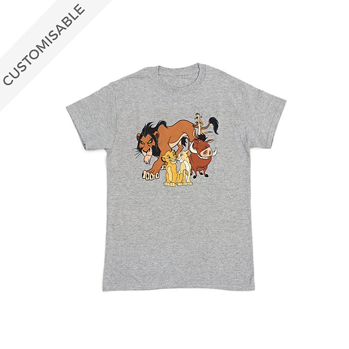 The Lion King Customisable T-Shirt For Kids