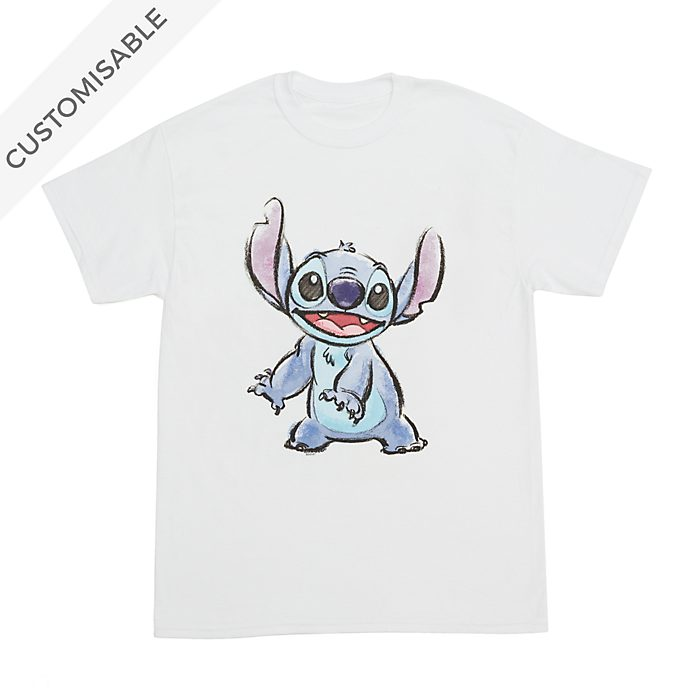 Stitch Smiles Customisable T-Shirt For Adults