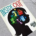 Inside Out Poster Customisable T-Shirt For Adults