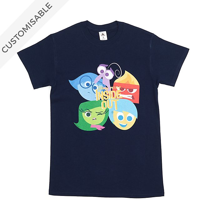 Inside Out Stylised Customisable T-Shirt For Adults