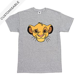 Simba Customisable T-Shirt For Adults, The Lion King