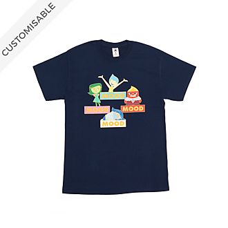 Inside Out Mood Customisable T-Shirt For Kids